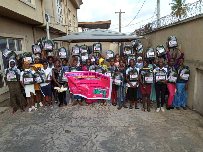 Some girls at CEE-HOPE programme in Lagos