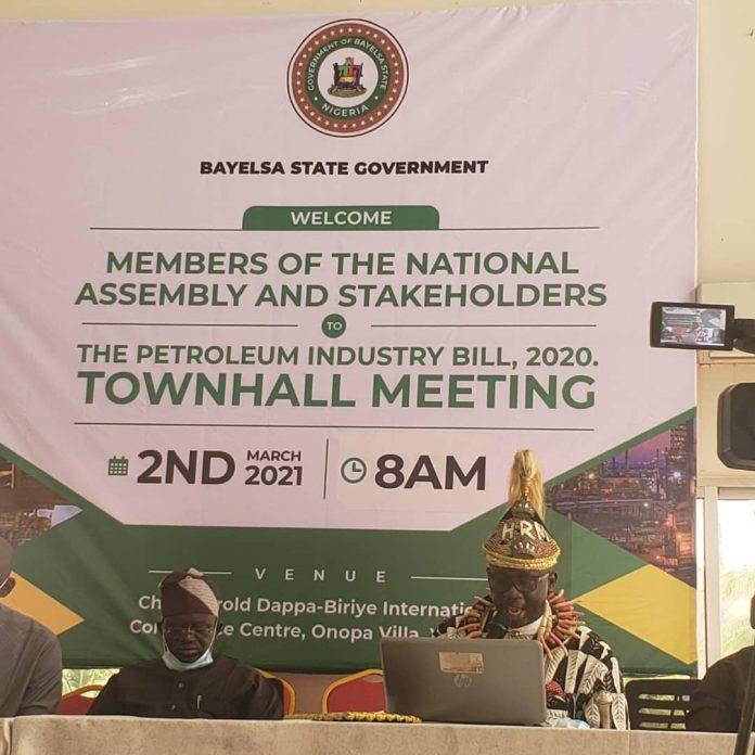 Bayelsa PIB town hall meeting