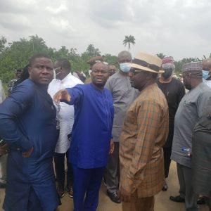NASS members visit Ikarama oil spill location visit